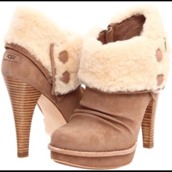 f5744a2cabd Rare Ugg Georgette Booties NWT
